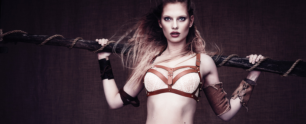 Marlies Dekkers Couture-Earl-Lagertha-Vanilla-Ice - Ab Ovo Lingerie