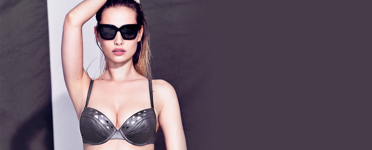 Marlies Dekkers Swimwear-Lagerthas-Reflection-Silver-Grey - Ab Ovo Lingerie